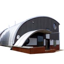 farming steel panel hut screw-joint metal roof building quonset hut kits quonset metal roof hut metal roof storage