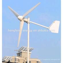 turbina de vento de ímã de eixo horizontal para uso doméstico