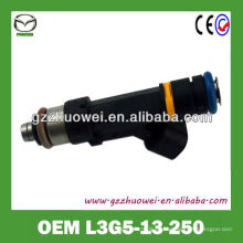 Bico de pulverização de combustível automático de melhor preço para MAZDA 6 OEM L3G5-13-250