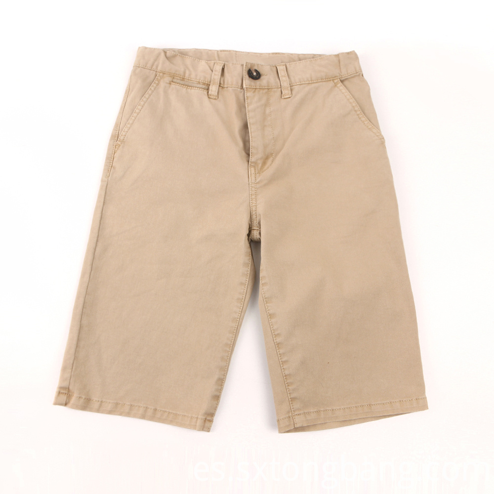 Breathable Cotton Chino Shorts