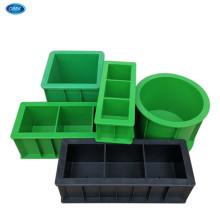 Concrete test mold box mortar test block mold folding anti-pressure anti-permeable plastic test mold