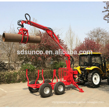 log trailer with crane sale for Canada