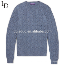 Fashion design autumn and winter mens cashmere pullover sweater