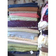100%cotton or CVC palin dyed bedsheet stock fabric