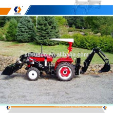 Hot sale Farm machine! tractor with loader and backhoe