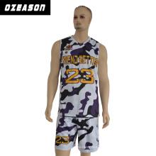 Ärmelloses Basketballtrikot aus 100% Polyester Sportswear für Männer