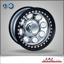 Black Lip Golden Beadlock 4x4 Wheels Rims Trailer Wheel Rim