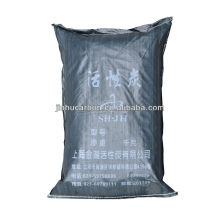 Activated carbon neutral packaging