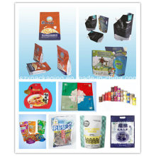 Cereals Packaging Pouch, Plastic Bag, Side Gusseted Bag