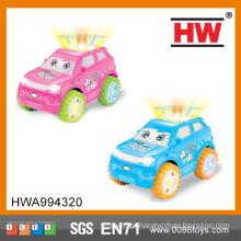 Alta qualidade crianças universal plástico mini carro brinquedos com luz e música