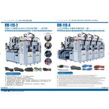 Máquina de fabricación de suela de zapato estático de PVC