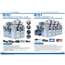 Machine de fabrication de semelle de chaussure en PVC statique