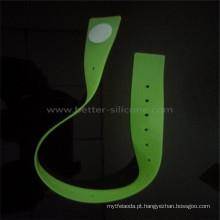 Banda médica descartável do tiquetaque do silicone