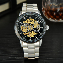 Fashion water resistant stainless steel business watches