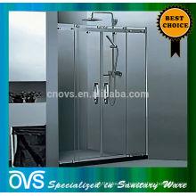 Bisagras de puerta de ducha de vidrio templado teniendo
