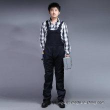 65% Polyester 35%Cotton Long Sleeve Safety Bip and Brace Workwear Uniform (BLY4001)