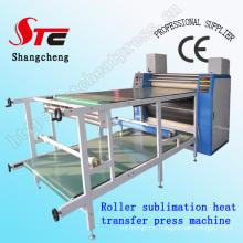 Machine de presse de la chaleur de sublimation de rouleau de Digital approuvée par CE Machine de rouleau de la machine rotatoire de sublimation de presse de grande taille