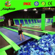 Trampoline Manufacture TUV Certified Heavy Duty Used Commercial Trampoline Park for Sale