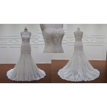 Vestido de noiva sereia overlace