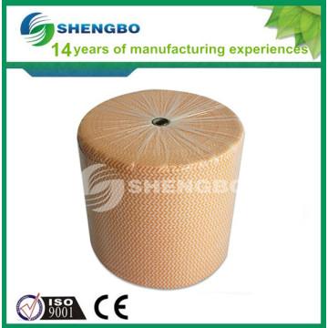 Toalhetes para limpeza de tecidos não tecidos