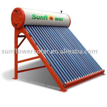 Chauffe-eau solaire tubulaire Thermosyphon (CHAUFFE-EAU SOLAIRE, ISO9001, KEYMARK SOLAIRE, CE, SRCC, EN12975)
