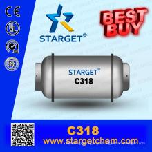 China fabricação de gás refrigerante C318