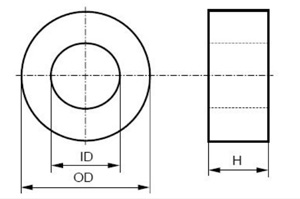 18*11*10 Toroidal Amorphous Audio Transformer Core