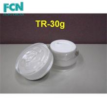2 унции пластиковые оптом акриловые косметической упаковки банку крем контейнер