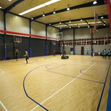 Plancher de basket-ball de confort d'intérieur de PVC