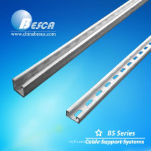 Professional Unit Strutl Stainless Steel Slotted Channel 41*41MM