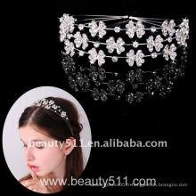 Astergarden Real Photo accessoire de mariage Tiara crown ASJ016