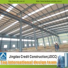 Fabrication d'entrepôts en acier de qualité professionnelle et de haute qualité Jdcc1040