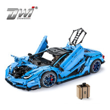 1:8 3842PCS MOC Master Technic  The Super Racing Car model Building Blocks Bricks Toys Gifts For kids