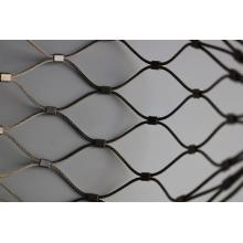 WOVEN TYPE FLEXIBLE STAINLESS STEEL CABLE MESH
