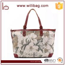 Fashion Printing Handbag For Women Hand Bag Cotton Canvas Tote Bag