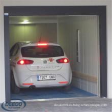 Mercancías Moderno Transporte Levante Estacionamiento Motocicleta Garaje Auto Car Elevator