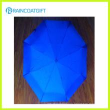 2015 мини-Реклама 3 складной зонтик Солнечный или дождливый