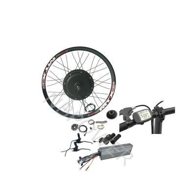 27.5inch 700C 29inch electric bicycle e bike 2000w motor conversion kit