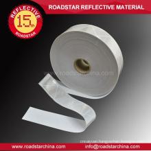 EN ISO 20471 white microprism reflex tape