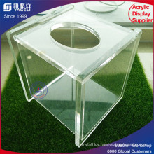Clear Acrylic Tissue Container Wholesale