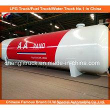 Asme 50m3 LPG Storage Tank 80m3 LPG Gas Storage Tank for Nigeria