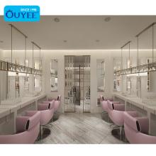 Retail Beauty Studio Furniture Manicure Table Nail Salon Furniture Hair Salon Furniture