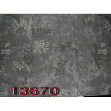 Snake Skin Style Camouflage Printed Fabric