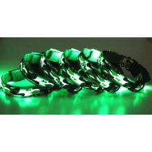 LED colar cão produtos piscando fornecimento pet colar