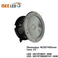 Luces LED subterráneas de 18W IP68 DMX