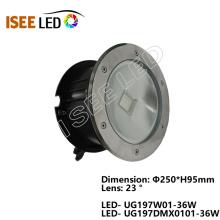 Lámpara de luz LED subterránea RGB DMX COB