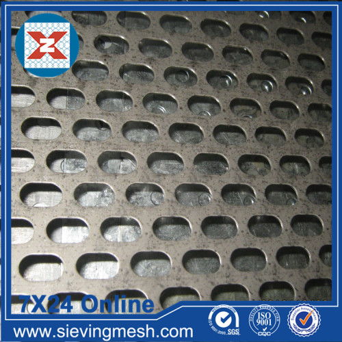 Trou Hexagonal Feuille De Perforation