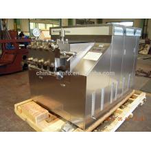 Large scale Homogenizer for 10000L/h flow production