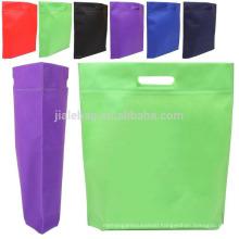 2015 unique die cut non woven bag eco-friendly by machine