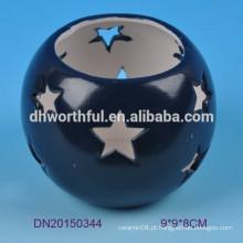 Cutely design estrela cerâmica tealight titular